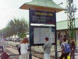 Boráros tér információs tábla