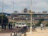 Kórház utcai rekonstrukció egyedi oszloppal