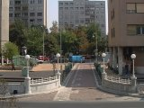 Kórház utcai kis Freiberg lámpa és Krisztina korlát
