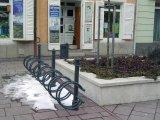 Sátoraljaújhely kerékpártartó
