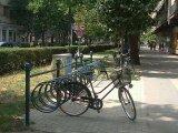 Kerékpár tároló