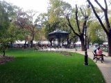 Hunyadi téri park elemek