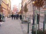 Szabó Ervin tér Centrum forgalom terelők