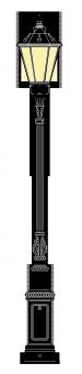 Beeskow 3.6m kandeláber