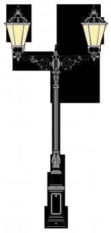 Beeskow 4m  kandeláber