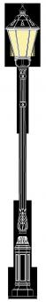 Freiberg 4.3m  kandeláber
