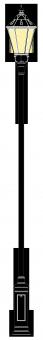 Szikszó 3.5-4.5m  kandeláber