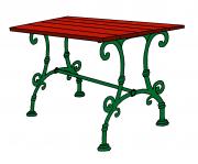 Schönbrunn  asztal