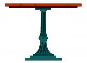 Patina  asztal