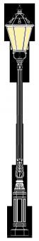 Freiberg 3.5m  kandeláber
