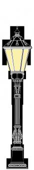 Beeskow 2.5m  kandeláber