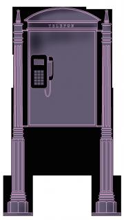 Telefonszekrény