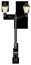 Beeskow 4m  kandeláber <br />(OK-01.H-2FE-01)