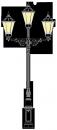 Beeskow 4.2m  kandeláber <br />(OK-01-H-3FE-01)