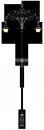 Erzsébet 6.7m  kandeláber <br />(OK-04-2FE-04)
