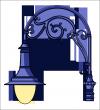 Erzsébet   lámpakar <br />(KA-04-800)