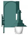 Bahnhof  pásztorbot lámpakar <br />(KA-06-500)