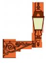Boulevard  lámpakar <br />(KA-16)