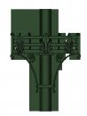 Kosár virágtartó <br />(VT-06)
