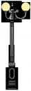 Olasz 2.5m  kandeláber <br />(OK-16-3G-250)